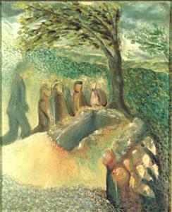 Schönberg, Begräbniss Mahlers