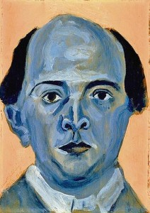 Schönberg, blauw zelfportret