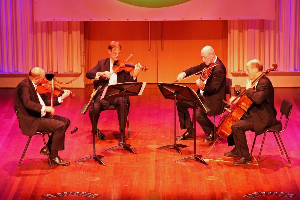 Pythagoras Kwartet speelt delen uit Schönberg, Brahms en Dvorak kwartetten