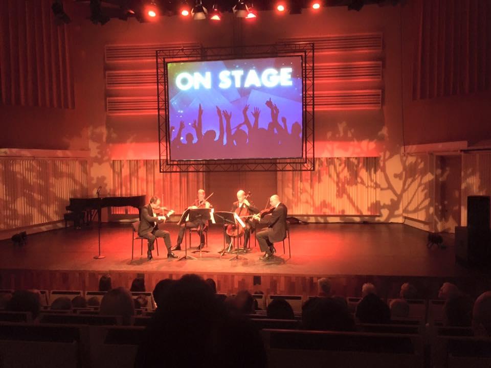 Pythagoras Kwartet speelt in Muziekgebouw Eindhoven, 21-11-2015