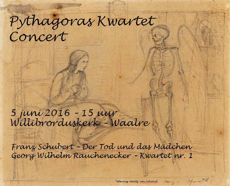 Affiche concert Willibrorduskerk 5 juni 2016