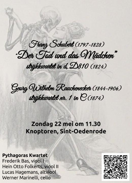 Affiche concert in de Knoptoren, Sint Oedenrode, 21-5-2016