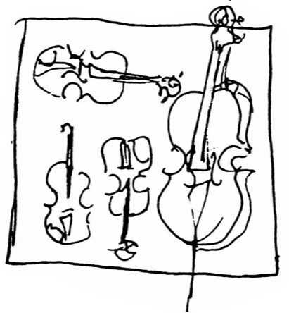 Q-instrumenten-lijntekening