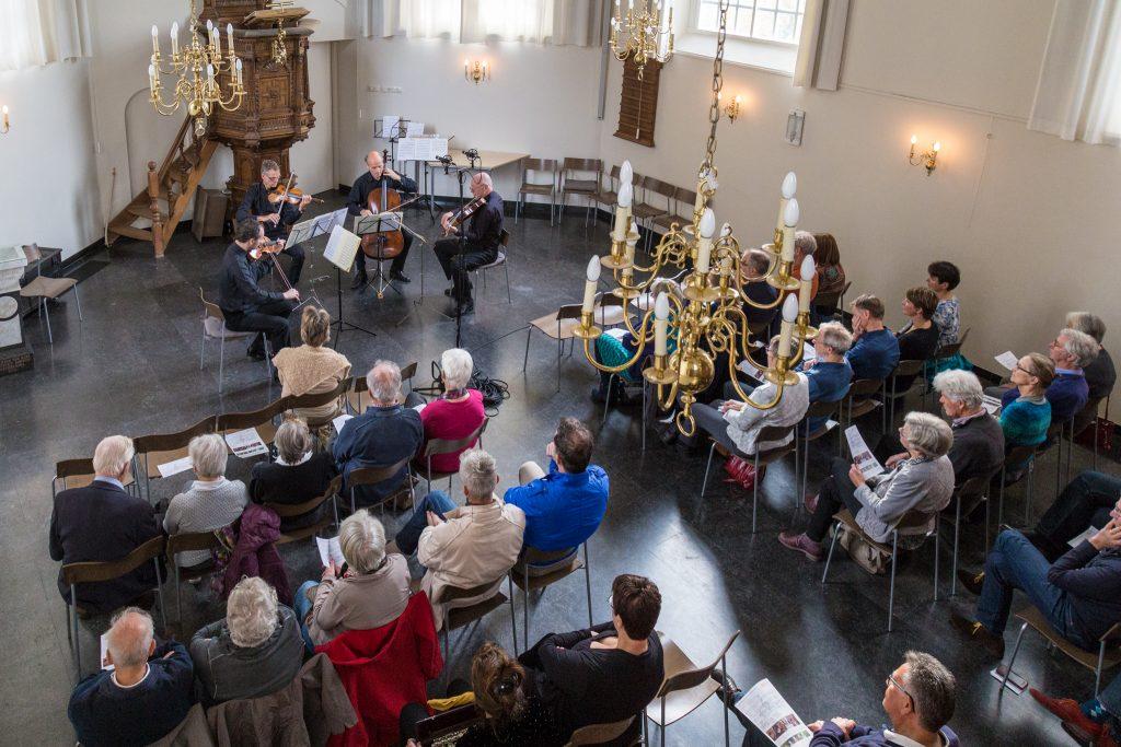 Pythagoras concerteert in Protestantse kerk in Boxtel (foto Hans v Doorn)